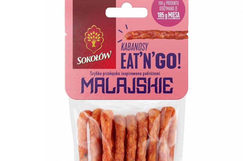 Kabanosy EAT'N'GO od Sokołowa