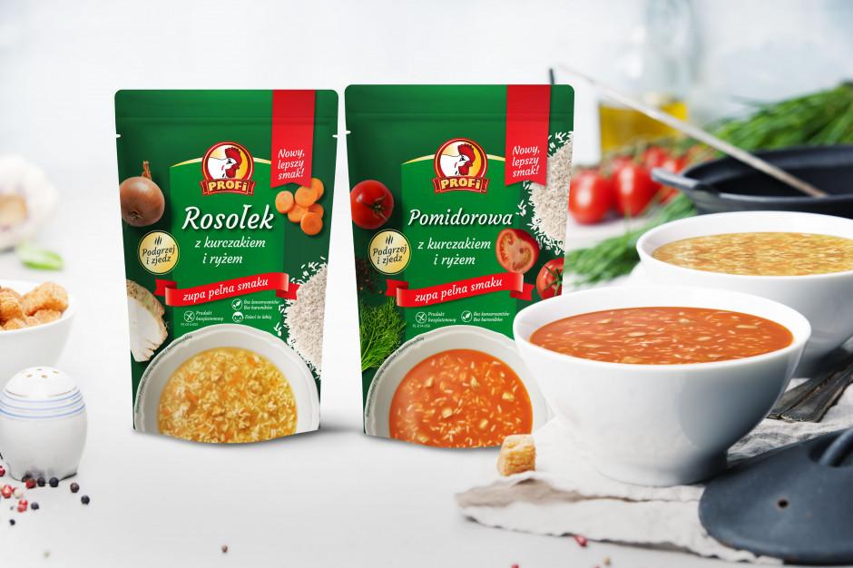 Zupy Profi z nową recepturą i w nowym opakowaniu