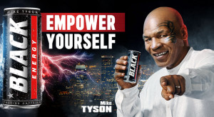Mike Tyson w kolejnej kampanii Black Energy Drink