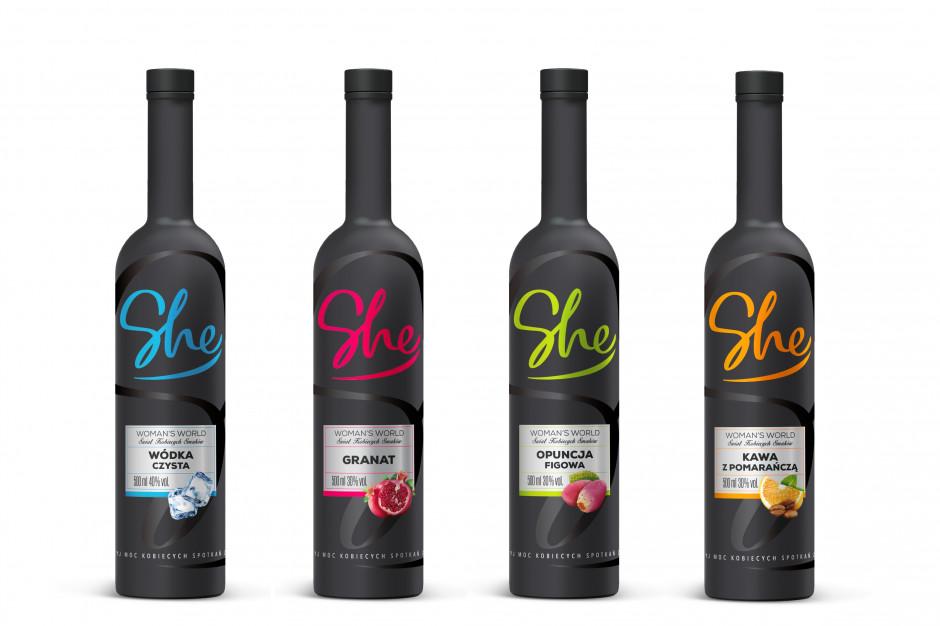 Pierwsza polska linia alkoholi dla kobiet SHE