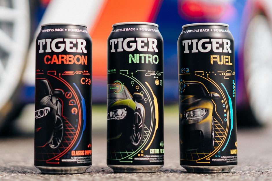 Nowa linia napojów Tiger