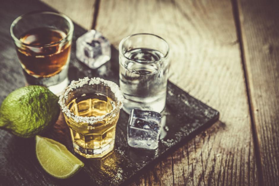 Rośnie popyt na mocne alkohole