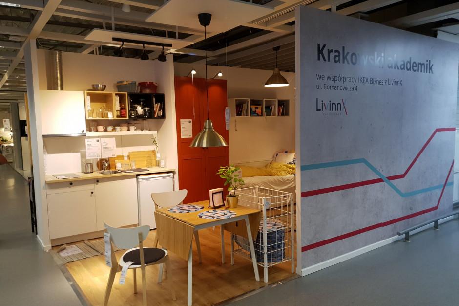 Ikea dostarczy meble do krakowskiego akademika