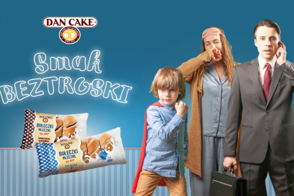 Dan Cake promuje nowe smaki bułeczek mlecznych