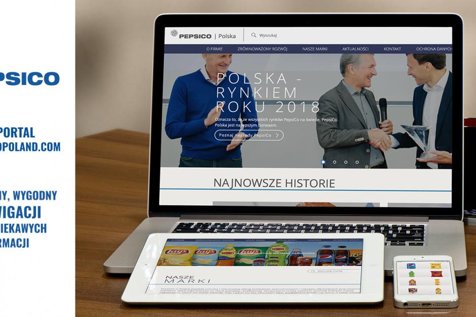 PepsiCo z nową witryną internetową w Polsce
