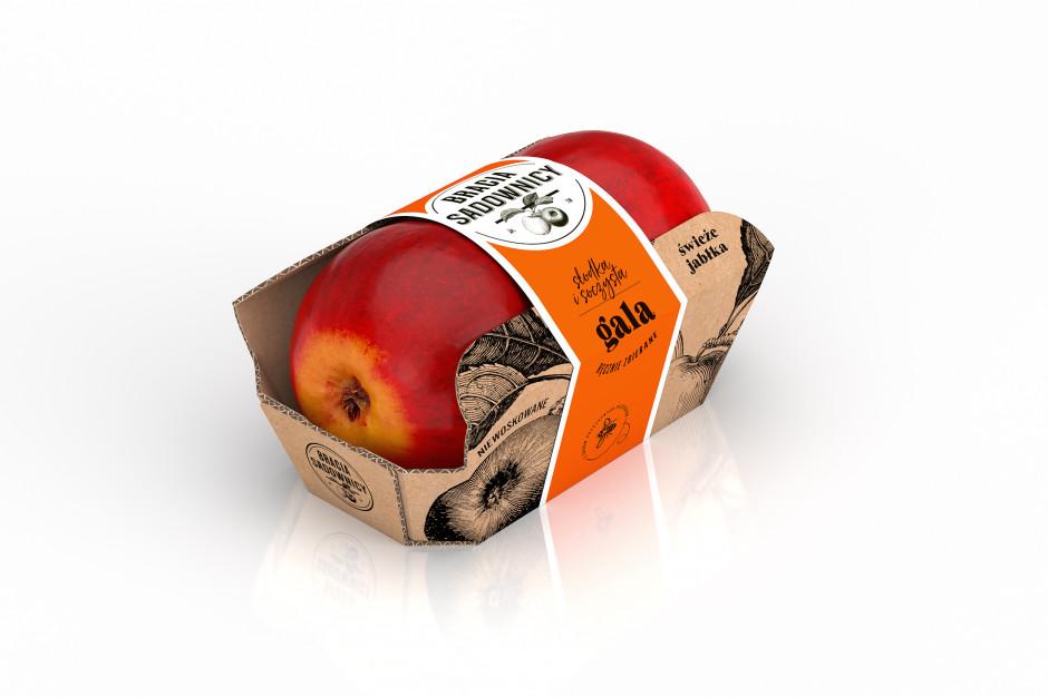 Jabłka Braci Sadowników w opakowaniach bez folii pojawią się Żabce
