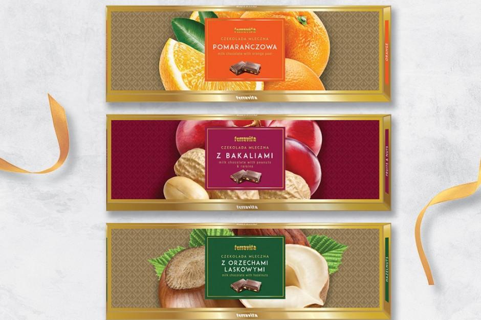 Nowe czekolady Terravita