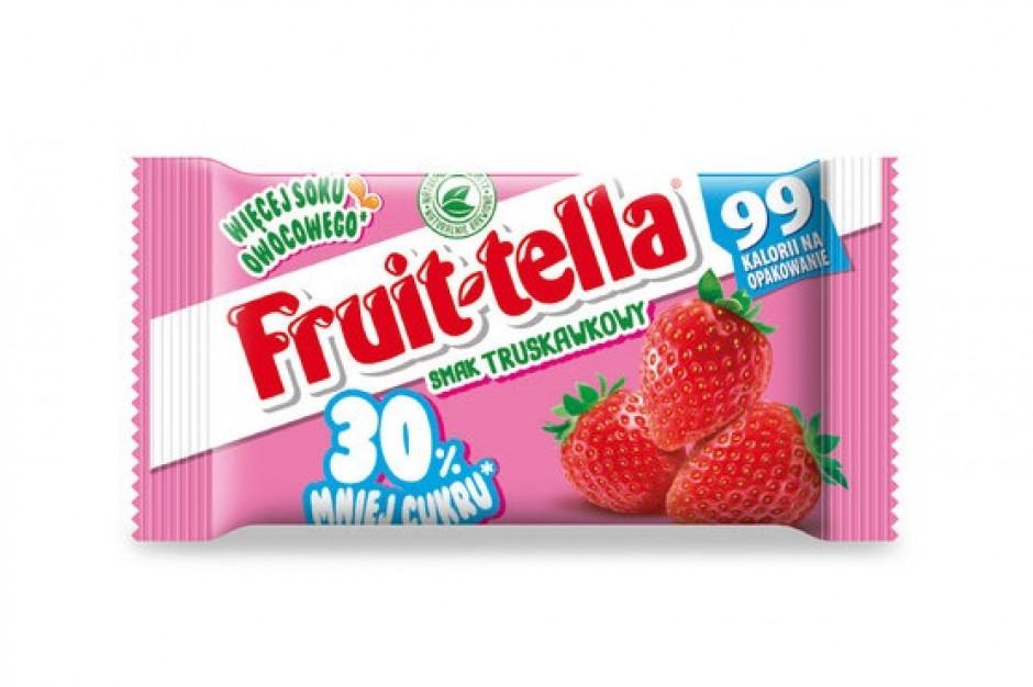 Cukierki Fruittella o obniżonej zawartości cukru