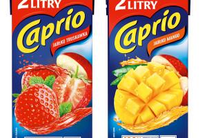 Dwa nowe smaki soków Caprio