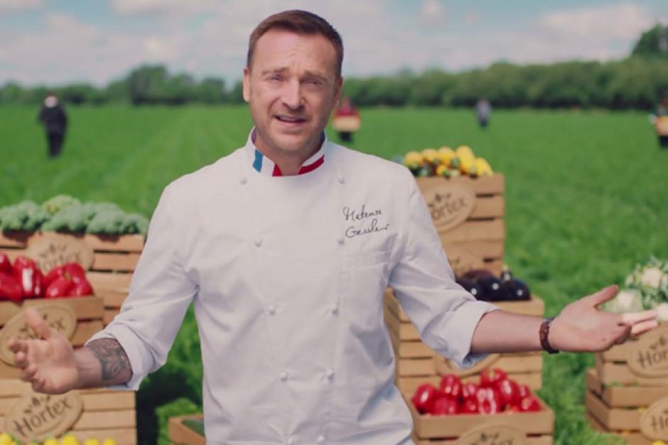Mateusz Gessler w reklamie zup mrożonych Hortex
