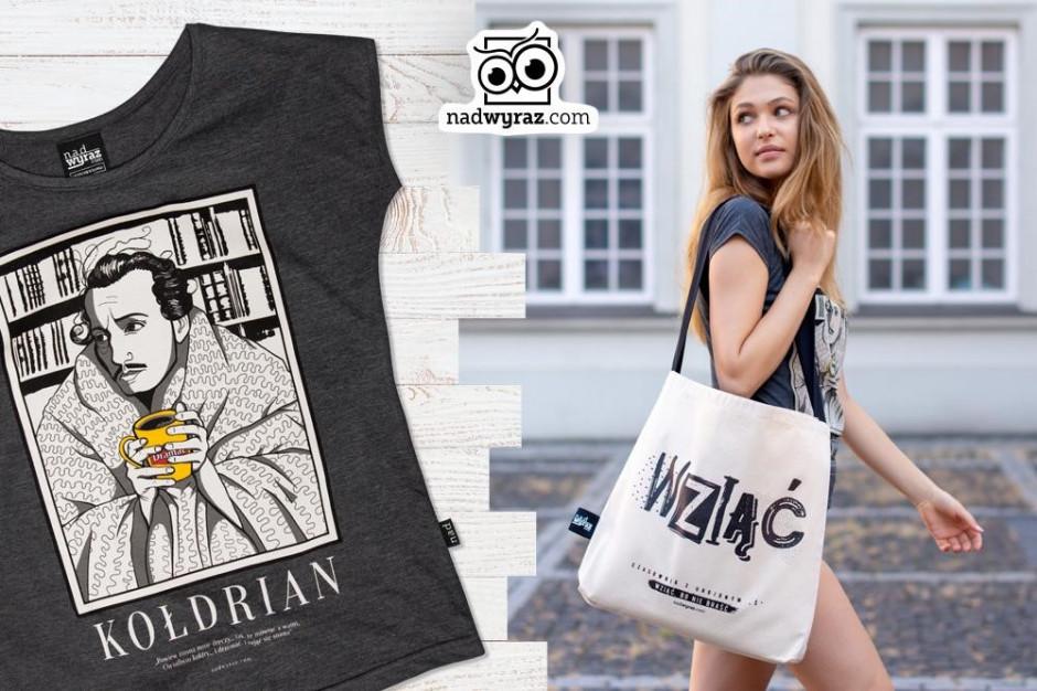 Salony Empik oferują odzież promującą język polski