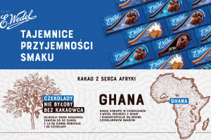 Marka E.Wedel o produkcji czekolady – to długi i skomplikowany proces