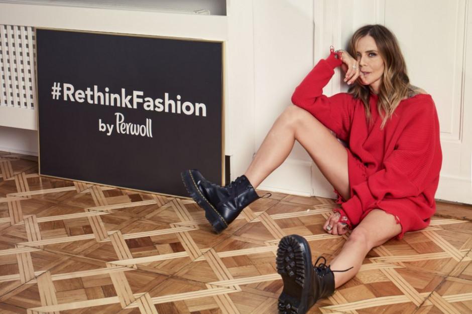 Maja Sablewska w kampanii marki Perwoll