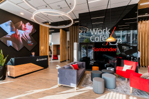 Santander Bank Polska uruchamia kawiarnię co-workingową