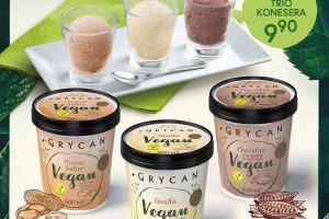 Kolejne wegańskie lody marki Grycan, w wersji kremowej