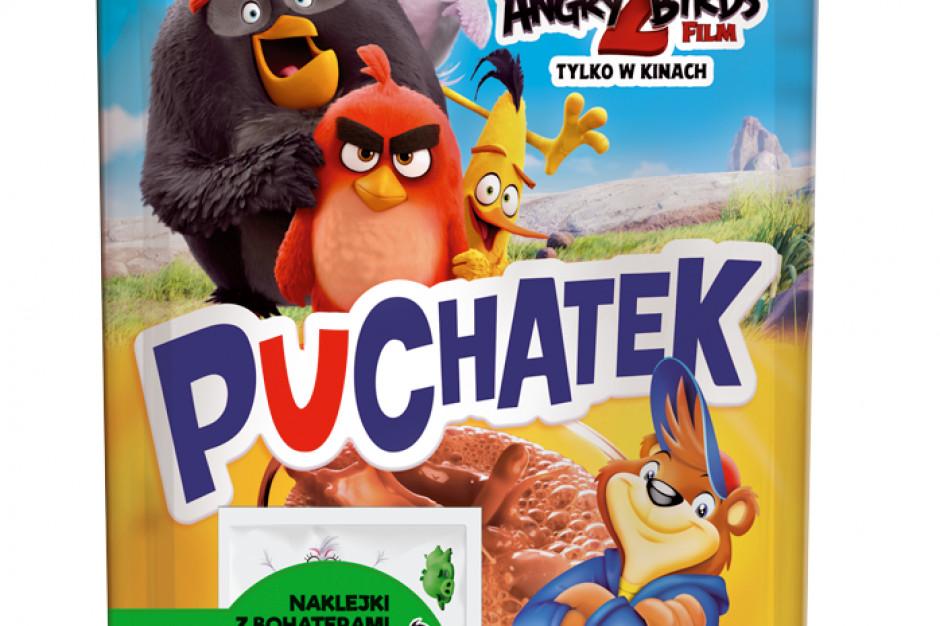 Marka Puchatek z licencją Angry Birds 2