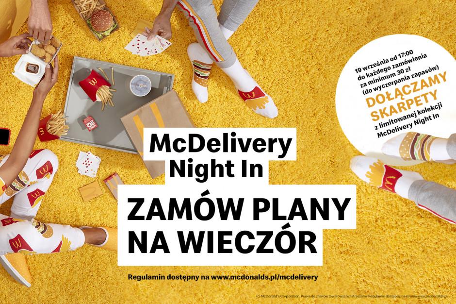 McDonald's z własną kolekcją... ubrań