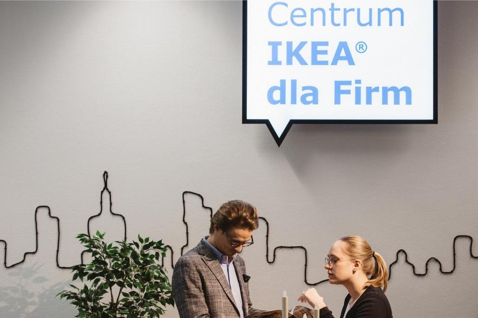 IKEA dla Firm przeniesiona do Blue City