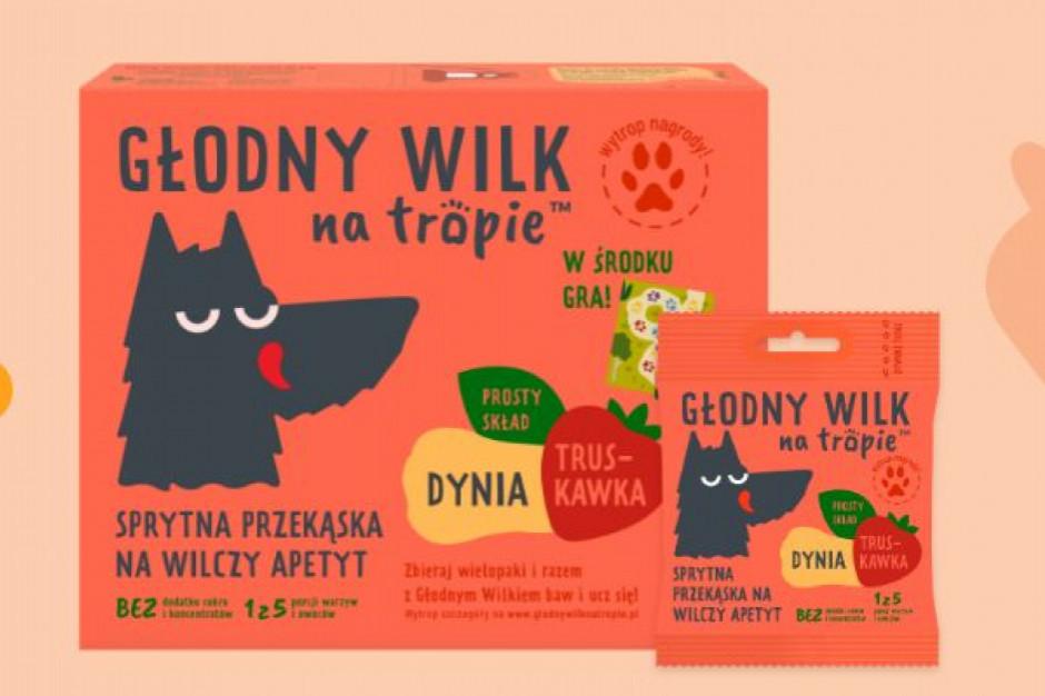 Marka Głodny Wilk na Tropie wkracza na rynek przekąsek