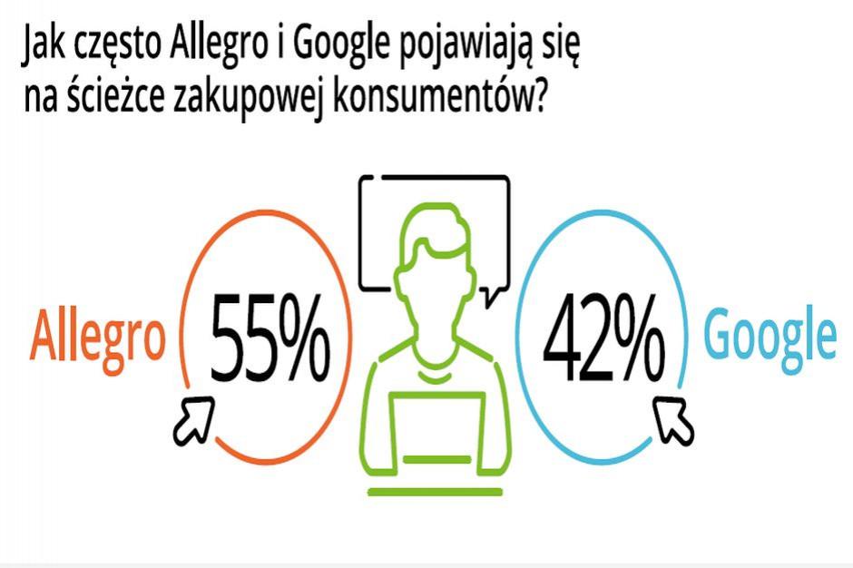 Allegro I Google To Najbardziej Popularne Witryny Dla Robiacych E Zakupy W Polsce E Commerce