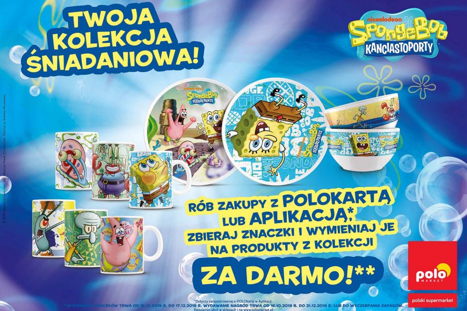 Polomarket stawia na SpongeBoba. Zamiast pluszaków zestawy śniadaniowe