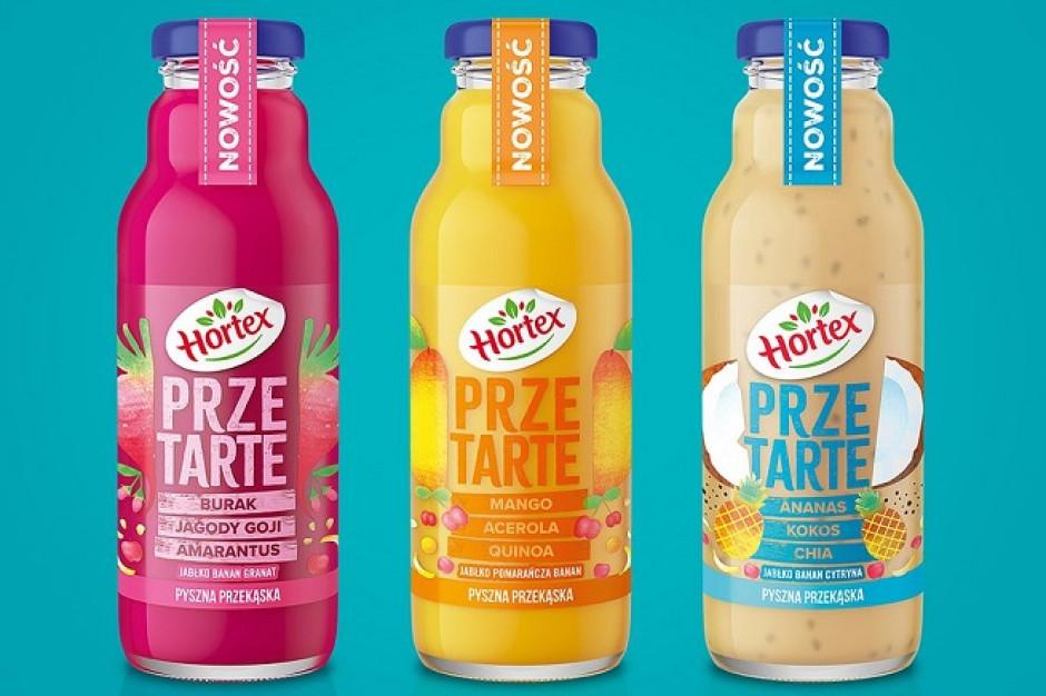 Hortex wprowadza nową linię soków