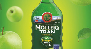 Möller's wspiera sprzedaż tranu w nowym wariancie smakowym