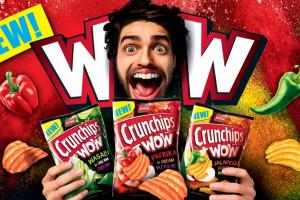 Ruszyła kampania chipsów Crunchips WOW