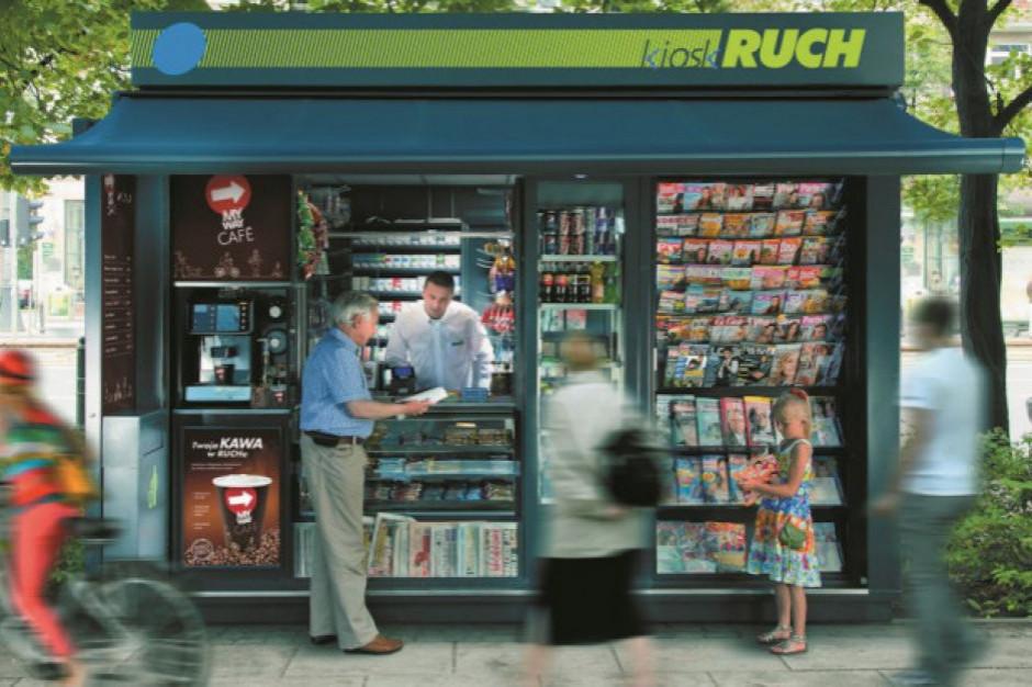 Ajentami kiosków Ruchu mogą być emeryci i studenci