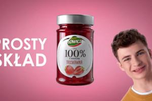 Trwa kampania reklamowa dżemów Łowicz 100% z Owoców