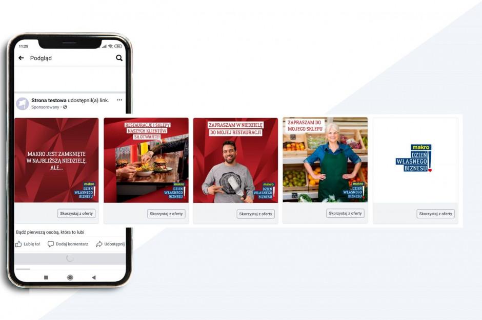 """Makro wspiera małe sklepy kampanią """"Otwarte niedziele"""""""