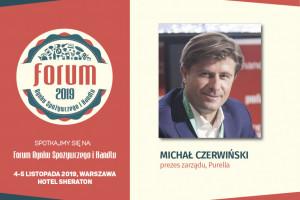 Michał Czerwiński, prezes Purella Superfoods zaprasza na FRSiH 2019 (wideo)