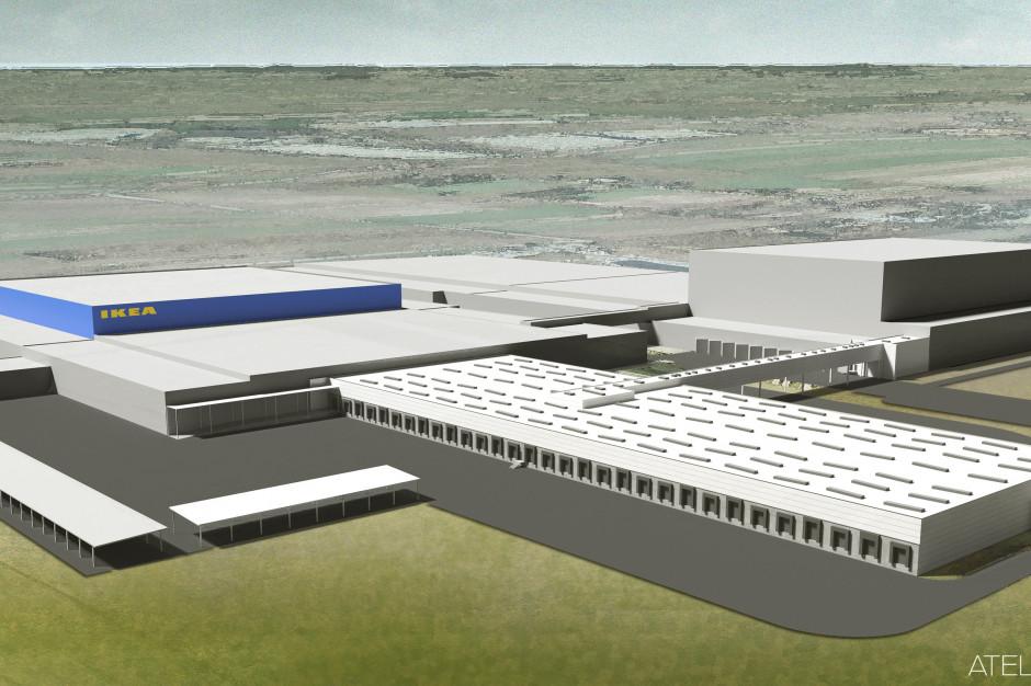 IKEA rozbudowuje magazyn w Jarostach. Obiekt obsługuje aż 10 krajów