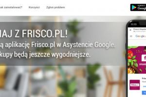 Zakupy na Frisco.pl z asystentem Google