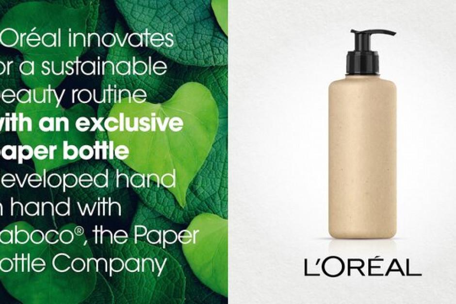 L'Oréal planuje wprowadzić pierwsze kosmetyki w papierowych butelkach w 2021 r.