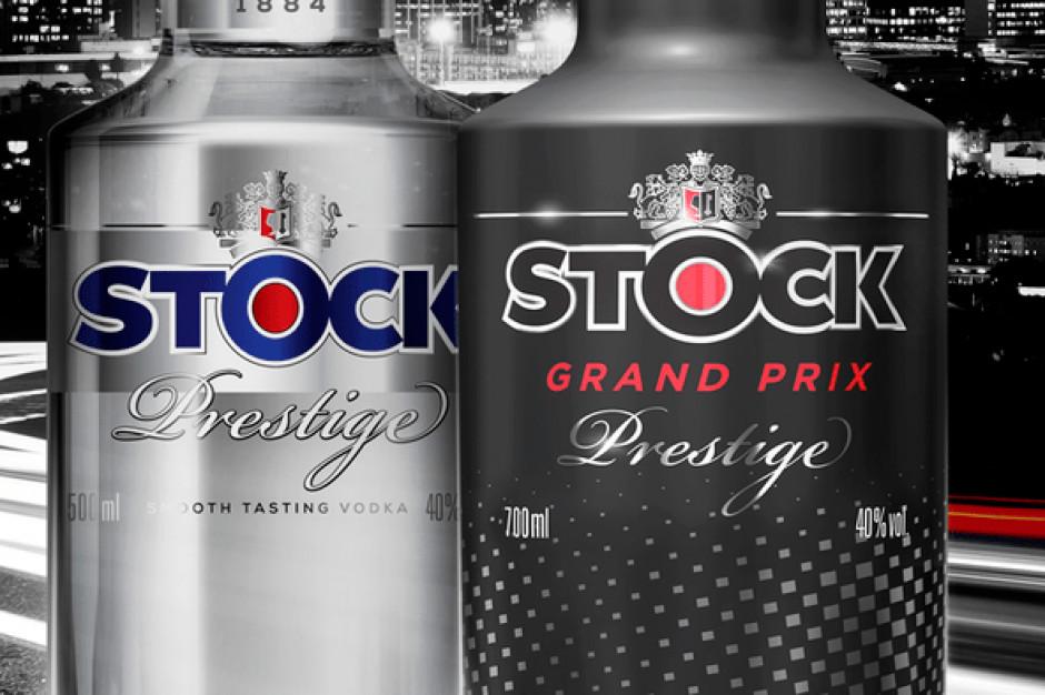 Limitowana edycja butelki Stock Prestige Vodka