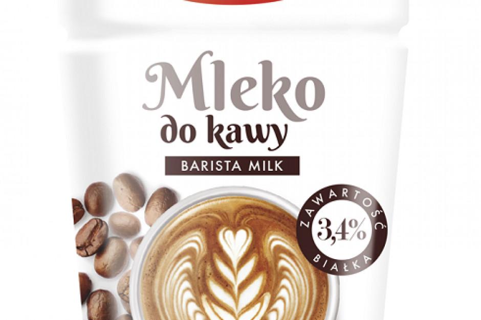 Nowe mleko do kawy z Piątnicy