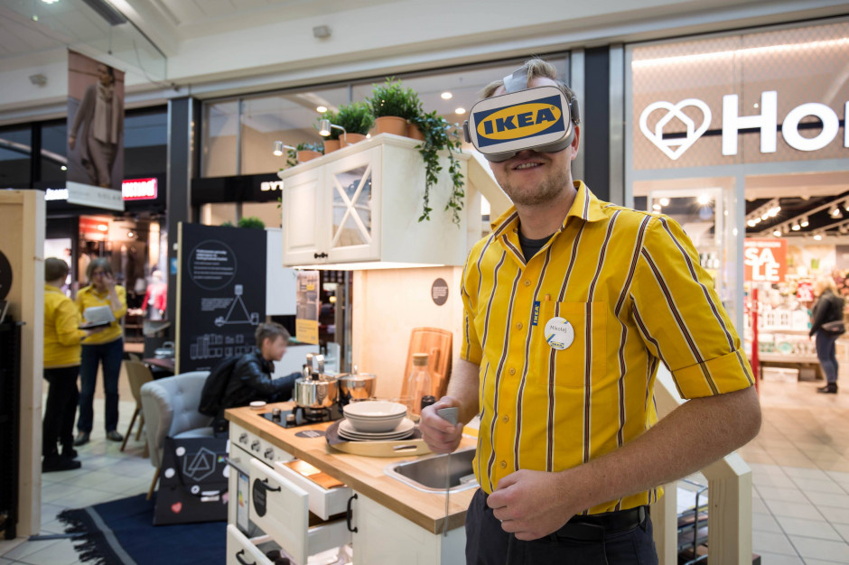 IKEA w formule pop-up w centrum M1 w Krakowie