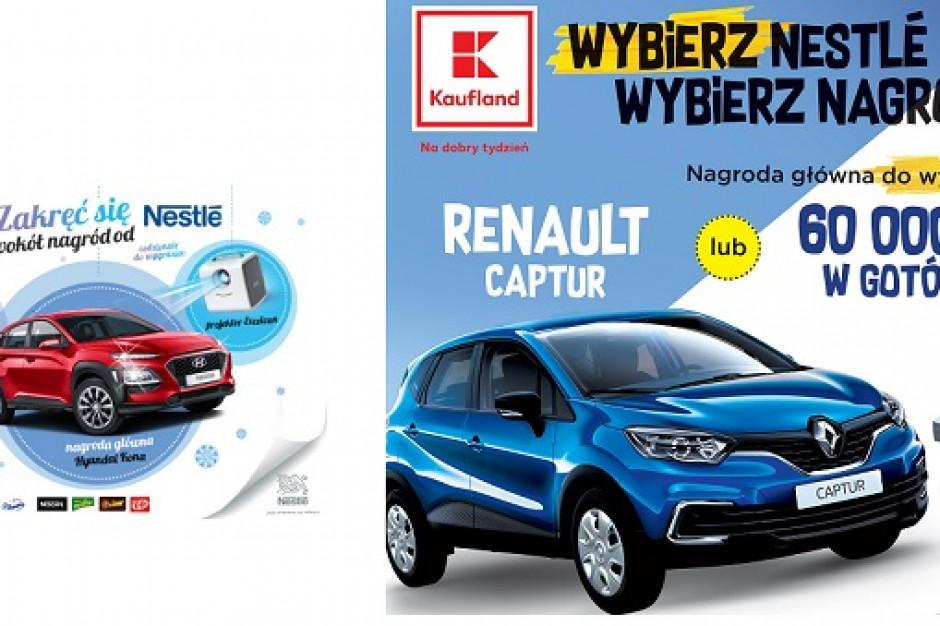 Nestlé z loteriami w sieciach Kaufland i Intermarche