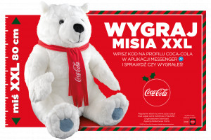 Święty Mikołaj, misie polarne i ciężarówki w świątecznej kampanii marki Coca-Cola