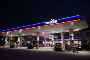 Moya liczy 227 stacji paliw