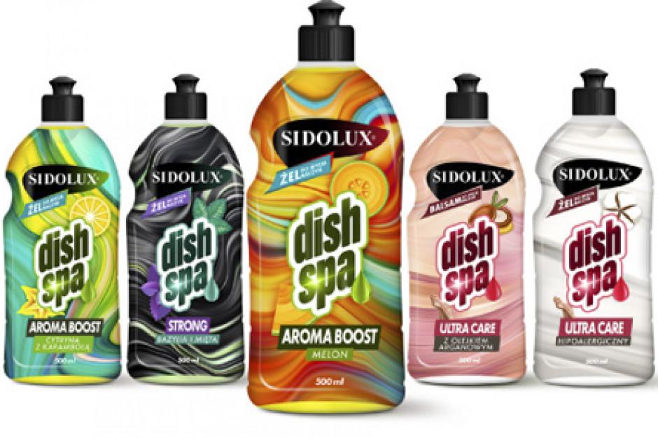 Nowość od marki Sidolux - żele do mycia naczyń Dish Spa
