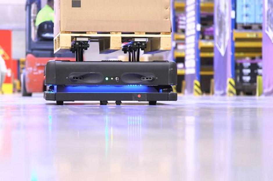 DB Schenker wprowadził do użytku autonomiczne roboty