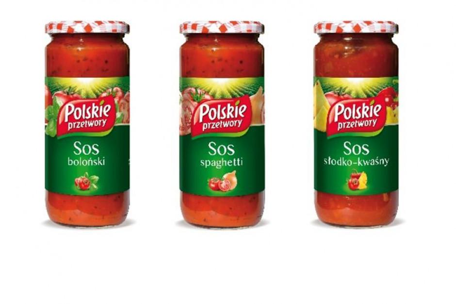 Marka Polskie Przetwory wprowadza trzy smaki sosów pomidorowych