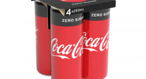 Coca-Cola rezygnuje w Europie ze zbiorczych opakowań foliowych na puszki