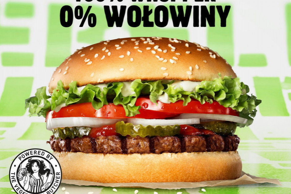 Burger King pozwany za roślinną kanapkę