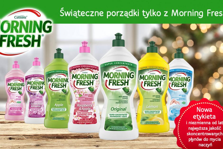 Płyny Morning Fresh z nową etykietą