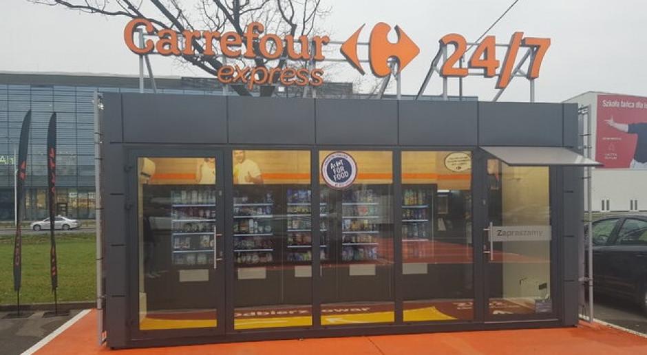 Carrefour otwiera w Warszawie sklep samoobsługowy w formacie convenience