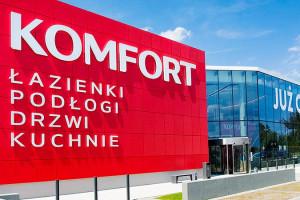 Sklepy Komfort połączyły się z siostrzaną marką Komfort Łazienki