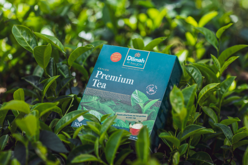 Nowe opakowania herbat Dilmah